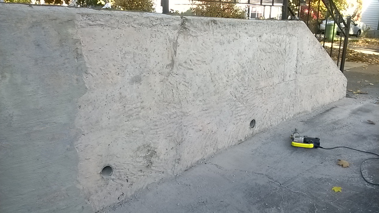 Concrete Retaining Wall Repairs